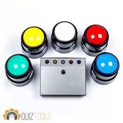 Quiz systeem 5 drukknoppen
